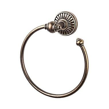 Top Knobs Tuscany Bath Towel Ring; German Bronze
