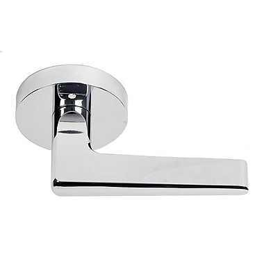 BetterHomeProducts Baker Beach Privacy Door Lever; Chrome