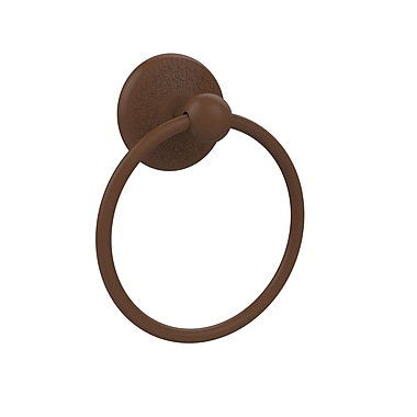 Allied Brass Prestige Monte Carlo Wall Mounted Towel Ring; Antique Bronze