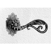 DJA Imports Ornate Single Dummy Right Hand Door Lever