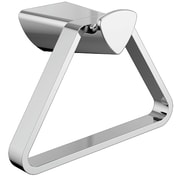 Delta Zura Triangular Wall Mounted Towel Ring; Chrome