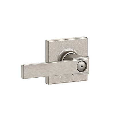 Schlage Northbrook F Series Privacy Door Lever w/ Collins Rosette WYF078281866321