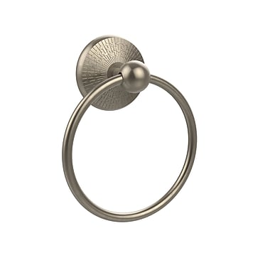 Allied Brass Prestige Monte Carlo Wall Mounted Towel Ring; Antique Pewter