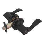 Hardware House Princeton Keyed Right Hand Door Lever; Classic Bronze