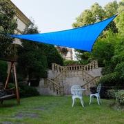 Cool Area 16'4'' Triangle Shade Sail; Blue