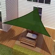 Vandue Corporation 10' Triangle Shade Sail; Green