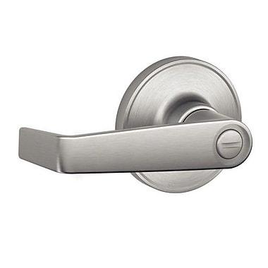 Schlage J Series Marin Privacy Door Lever; Satin Stainless Steel