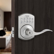 ToledoFineLocks Ja n Keyless Electronic Left Hand Door Lever