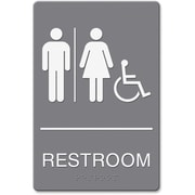 Bathroom Sign Handicap restroom signs
