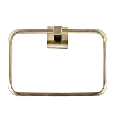Italia Capri Towel Ring; Bronze