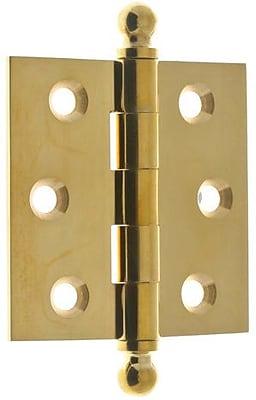 idh by St. Simons 3.5'' H x 2.5'' W Loose Pin Pair Door Hinge (Set of 2)