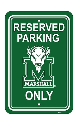NeoPlex NCAA Parking Sign; Marshall Thundering WYF078281851421