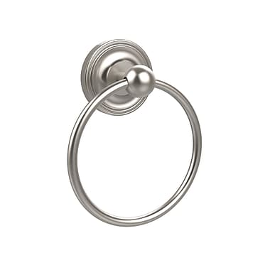 Allied Brass Universal Wall Mounted Towel Ring; Satin Nickel