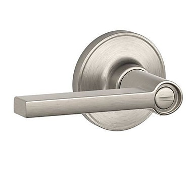 Schlage J Series Solstice Door Lever; Satin Nickel