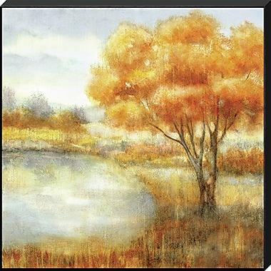 Charlton Home 'Golden Landscape I' Graphic Art Print