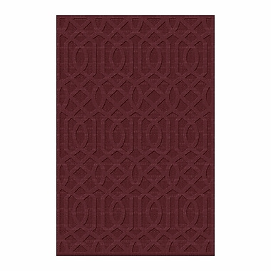 Darby Home Co Evon Hand Tufted Red Area Rug