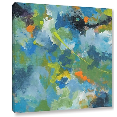 George Oliver 'Rainforest' Painting Print on Wrapped Canvas; 14'' H x 14'' W x 2'' D