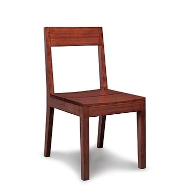 Greenington Juniper Chair (Set of 2); Nutmeg
