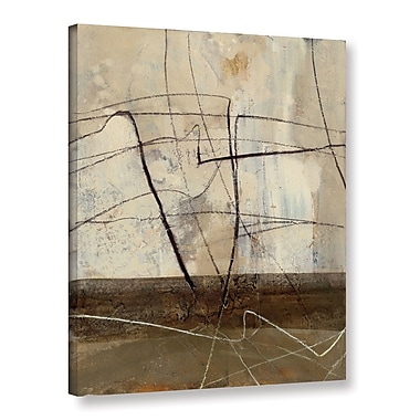 Varick Gallery 'Across the Desert II' by Albena Hristova Painting Print on Wrapped Canvas