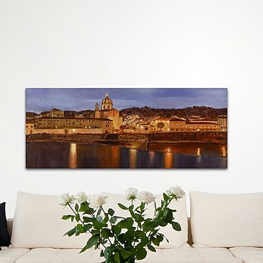 Alcott Hill 'Midnight in Florence' Oil Painting Print; Plexiglass