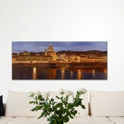 Alcott Hill 'Midnight in Florence' Oil Painting Print; Metal