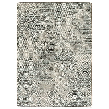 Bungalow Rose Tate Beige/Green Area Rug; 7'8'' x 10'9''