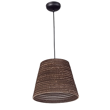 Bloomsbury Market Ald 1-Light Mini Pendant; 134'' H x 17.25'' W x 17.25'' D