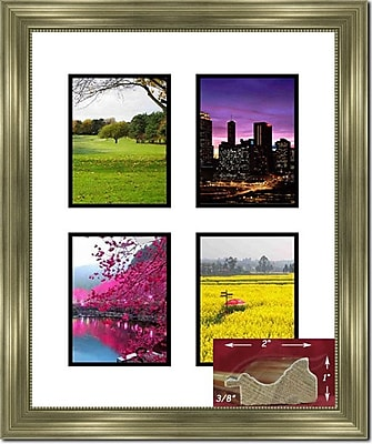 Darby Home Co Fabrice Collage Picture Frame; 5'' x 7''