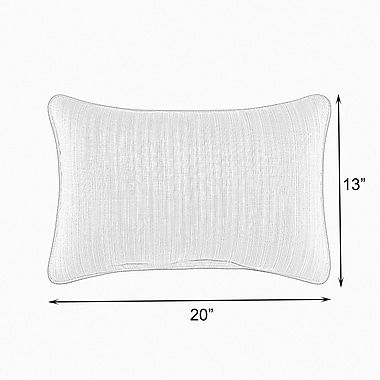Darby Home Co Fantine Polyester Lumbar Pillow (Set of 2); 13'' x 20''