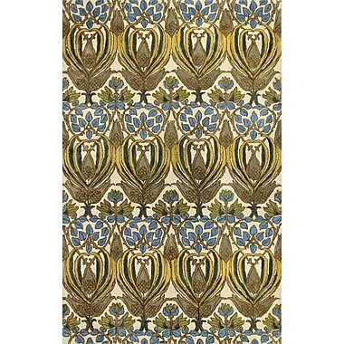 World Menagerie Demarcus Hand-Tufted Ivory Area Rug; 8'6'' x 11'6''