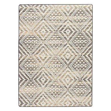 Bungalow Rose Tate Soft Gold Area Rug; 7'8'' x 10'9''