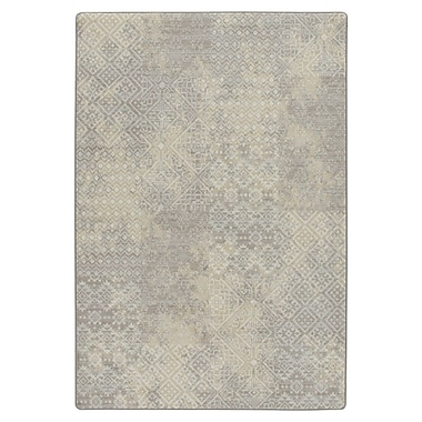 Bungalow Rose Tate Parchment Area Rug; 5'4'' x 7'8''