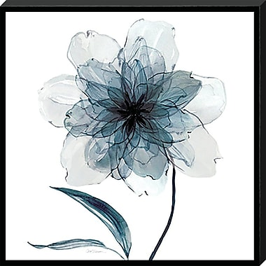 Ebern Designs 'Indigo Bloom II' Graphic Art Print