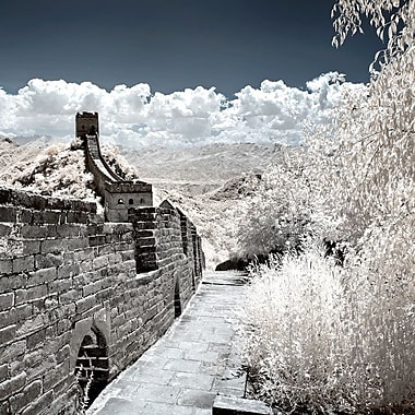 East Urban Home 'Another Look At China VI' Photographic Print on Wrapped Canvas in Gray/Blue