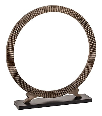 Bloomsbury Market Benito Decorative Footed Hoops D cor; 15'' H x 13'' W x 4'' D