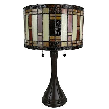 AmoraLighting Tiffany Style 21'' Table Lamp