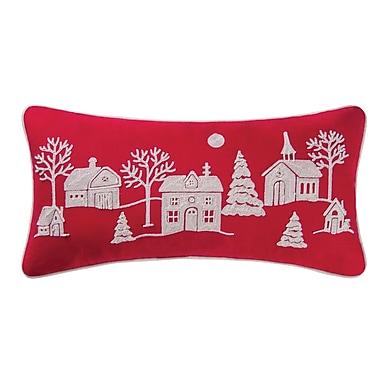 Alcott Hill Greensburg Peaceful Village Cotton Lumbar Pillow