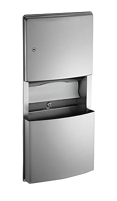 American Specialties Roval? Recessed Mounted Paper Towel Dispenser