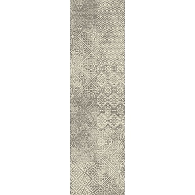Bungalow Rose Tate Oyster Area Rug; Runner 2'1'' x 7'8''