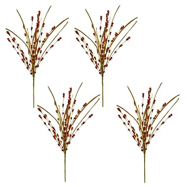August Grove Hop's Morning Dew Branch (Set of 4)