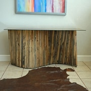Union Rustic Muir Console Table; 48'' W X 18'' D X 30''H