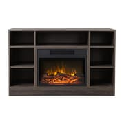 Homestar Oakley Media Electric Fireplace; Brown