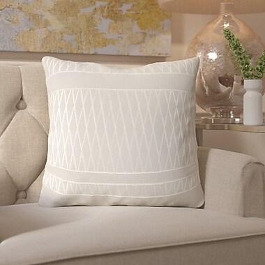 Mistana Davis Square Throw Pillow; 18'' H x 18'' W x 4'' D