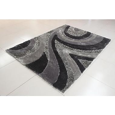 Orren Ellis Joshawn Geometric Gray Area Rug; 5'3'' x 7'2''