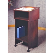 Ironwood General 2 Section Full Podium; Mahogany
