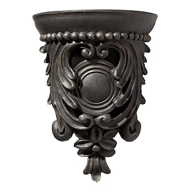 Darby Home Co Carved Corbel Design Door Chime in Hand Painted Florentine Bronze