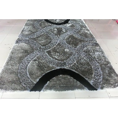 Orren Ellis Joshawn Gray Area Rug; 2' x 3'