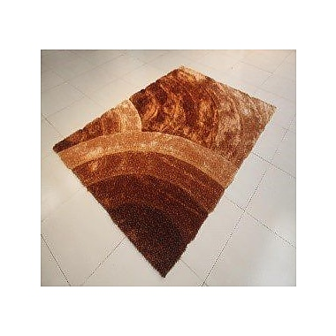 Orren Ellis Arron Gold Area Rug; 7'11'' x 9'10''