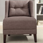 Charlton Home Niantic Solid Wingback Chair