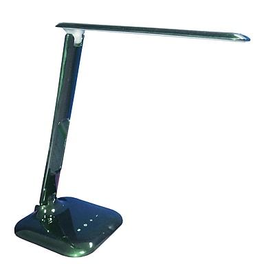 Orren Ellis Addre 13'' Desk Lamp; Black